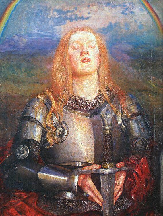 Annie Louise Swynnerton Joan of Arc oil painting image