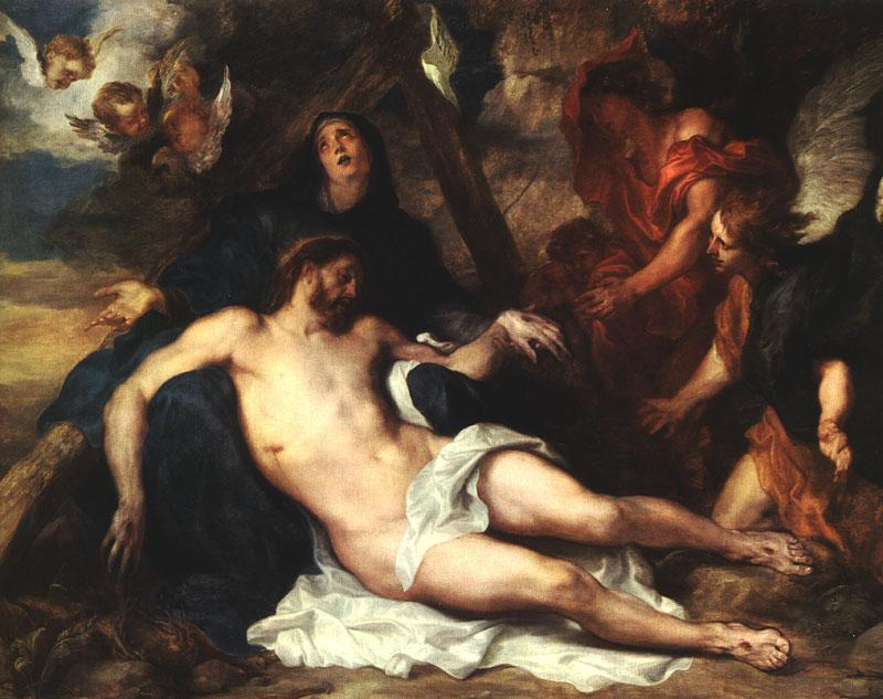 Anthony Van Dyck Deposition_m oil painting image
