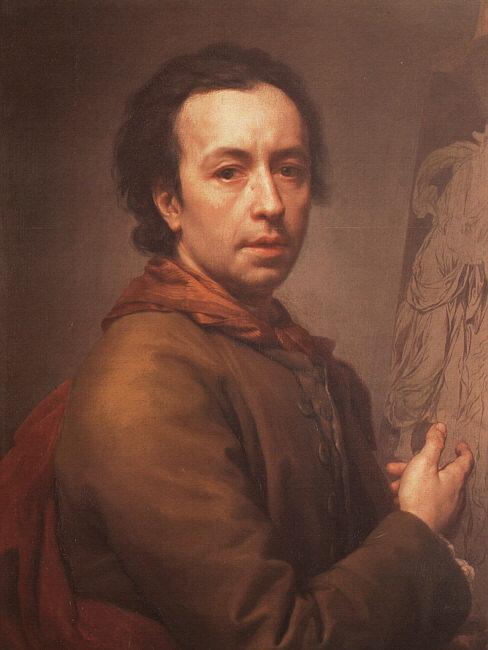 Anton Raphael Mengs Self Portrait  ddd oil painting image