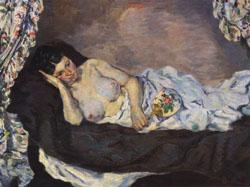 Armand Guillaumin Reclining Nude oil painting image