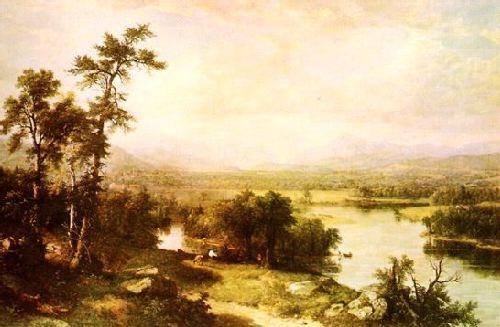 Asher Brown Durand White Mountain Scenery oil painting image