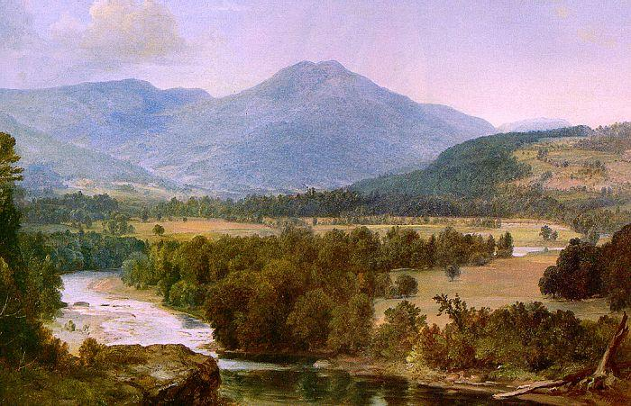 Asher Brown Durand Genesee Valley Landscape oil painting image
