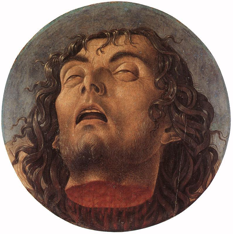 BELLINI, Giovanni Head of the Baptist 223 oil painting image