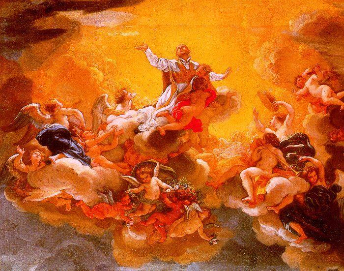 Baciccio The Apotheosis of St. Ignatius oil painting image