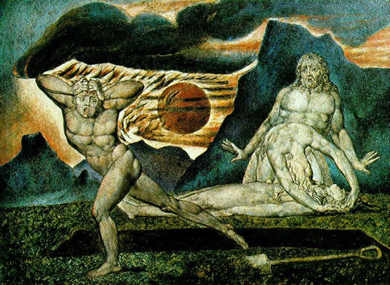 Blake, William The Body of Abel Found by Adam Eve,