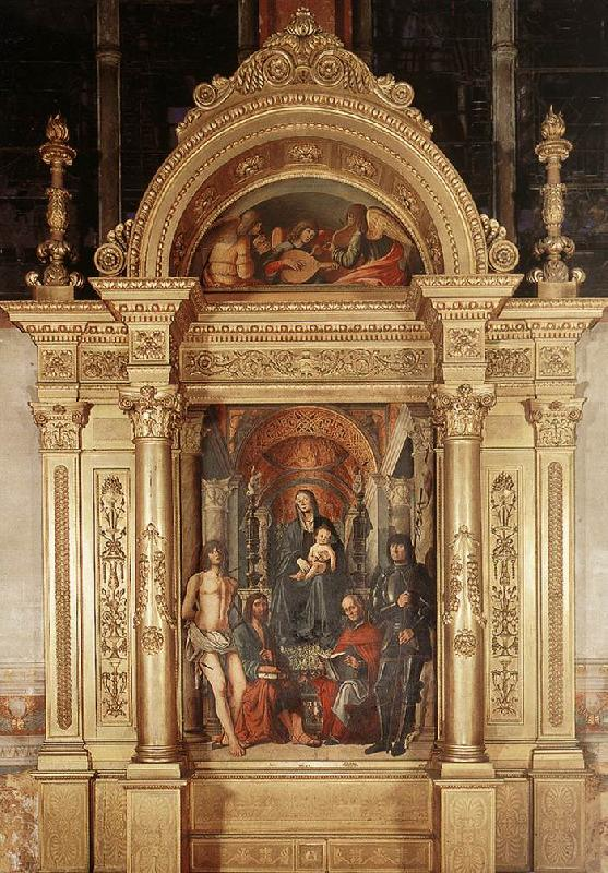 COSTA, Lorenzo Madonna and Saints dg oil painting image