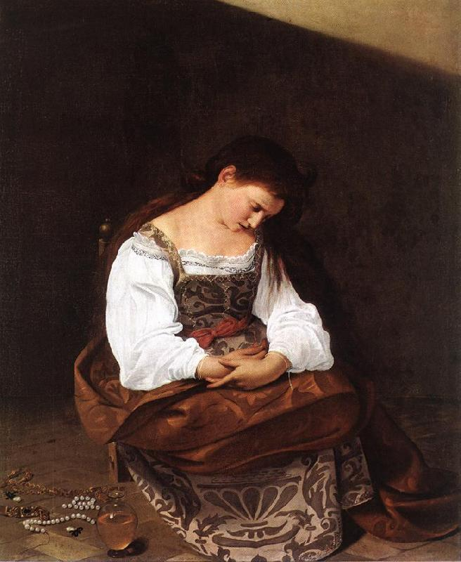 Caravaggio Magdalene gd oil painting image