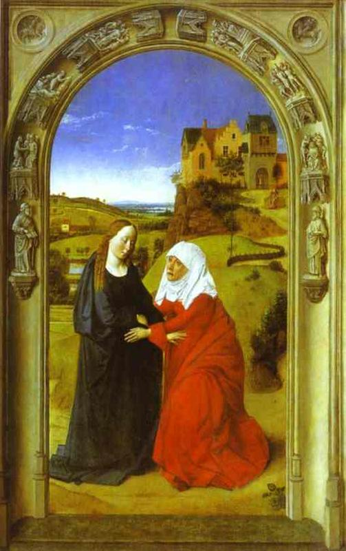Dieric Bouts The Visitation. oil painting image