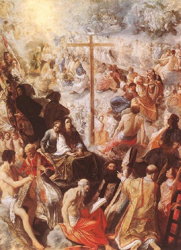 ELSHEIMER, Adam Glorification of the Cross gfw oil painting image