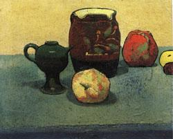 Emile Bernard Earthenware Pot and Apples