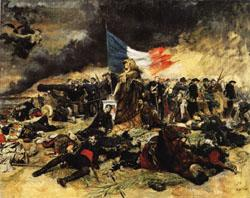 Ernest Meissonier The Siege of Paris oil painting image