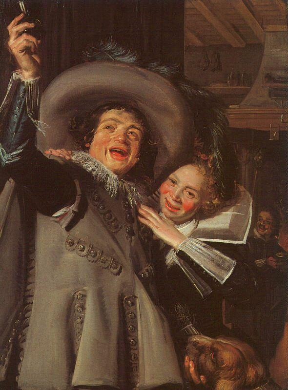 Frans Hals Young Man and Woman in an Inn