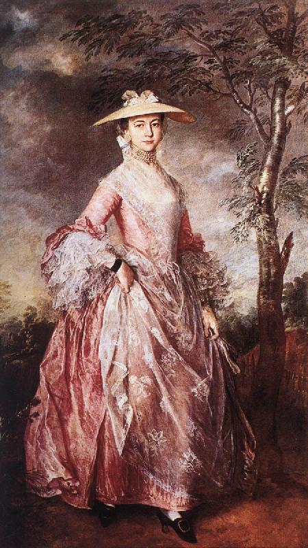 GAINSBOROUGH, Thomas Mary, Countess of Howe sd