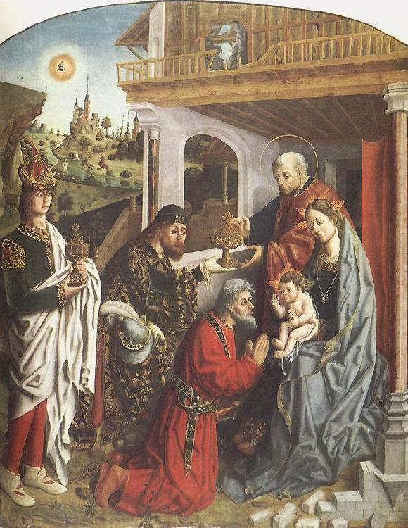 GALLEGO, Fernando Epiphany df oil painting image