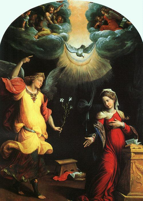 GAROFALO The Annunciation dg oil painting image