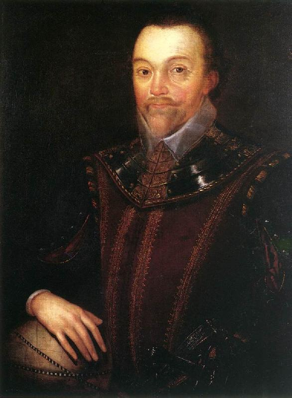 GHEERAERTS, Marcus the Younger Sir Francis Drake dfg oil painting image