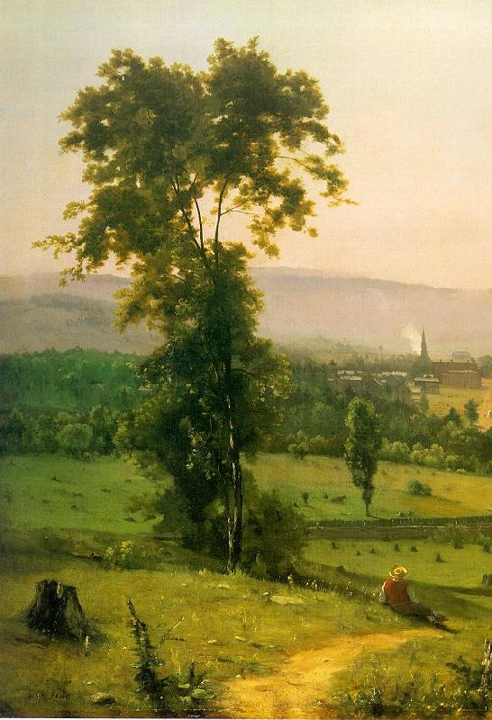 George Inness The Lackawanna Valley oil painting image