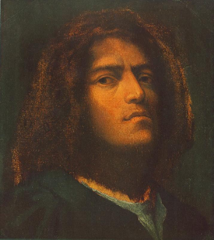 Giorgione Self-Portrait dhd oil painting image