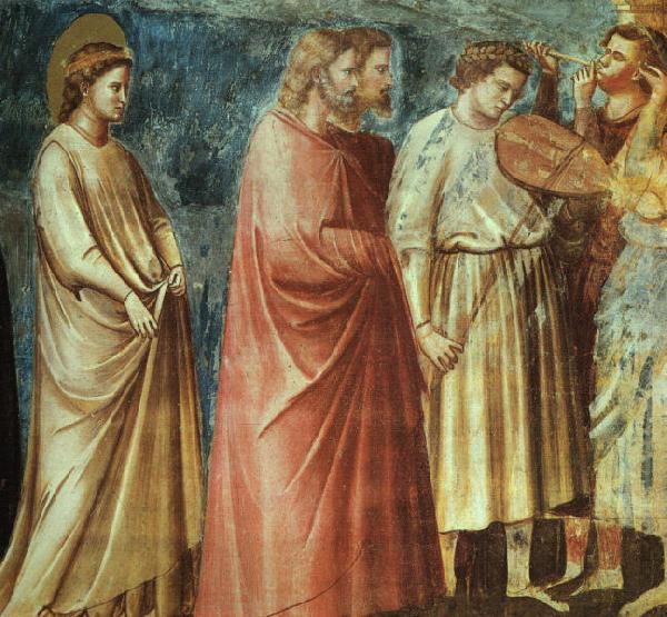 Giotto Scenes from the Life of the Virgin 1 oil painting image