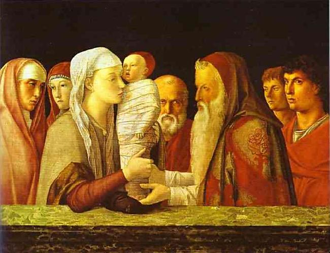 Giovanni Bellini The Presentation in the Temple. oil painting image