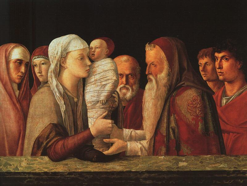 Giovanni Bellini The Presentation at the Temple oil painting image