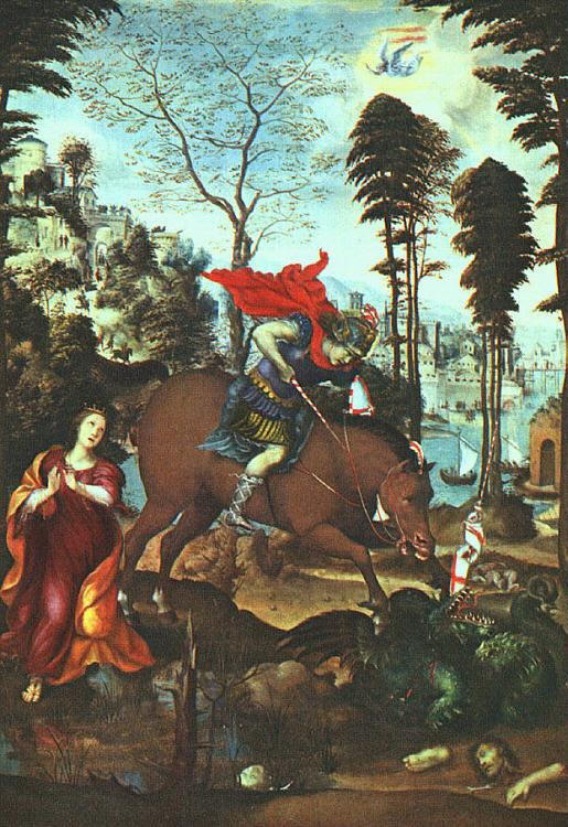 Giovanni Sodoma St.George and the Dragon