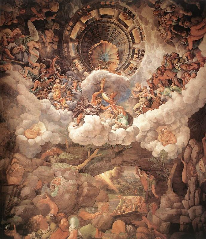 Giulio Romano The Fall of the Gigants sh oil painting image