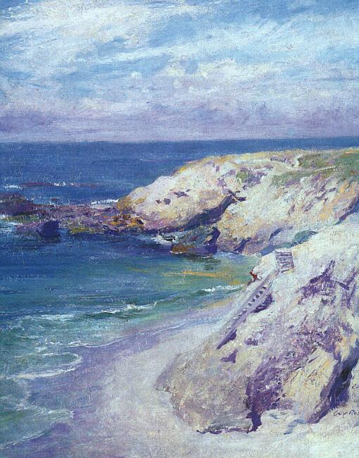 Guy Rose La Jolla Cove oil painting image