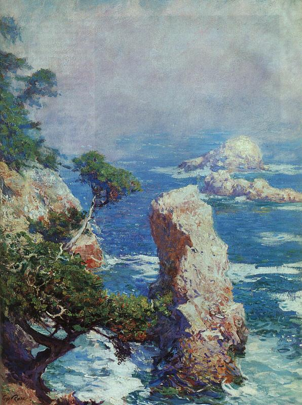 Guy Rose Mist Over Point Lobos oil painting image