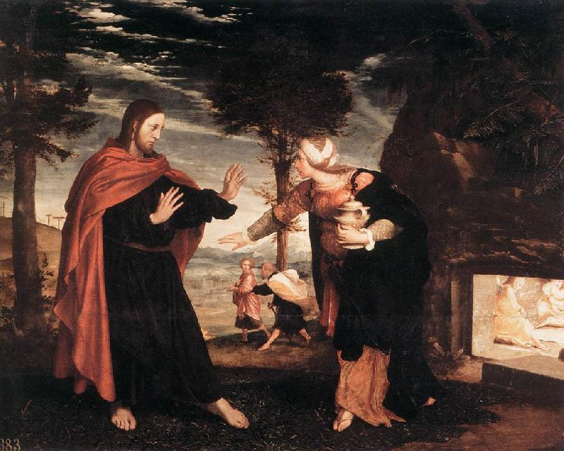 HOLBEIN, Hans the Younger Noli me Tangere f oil painting image