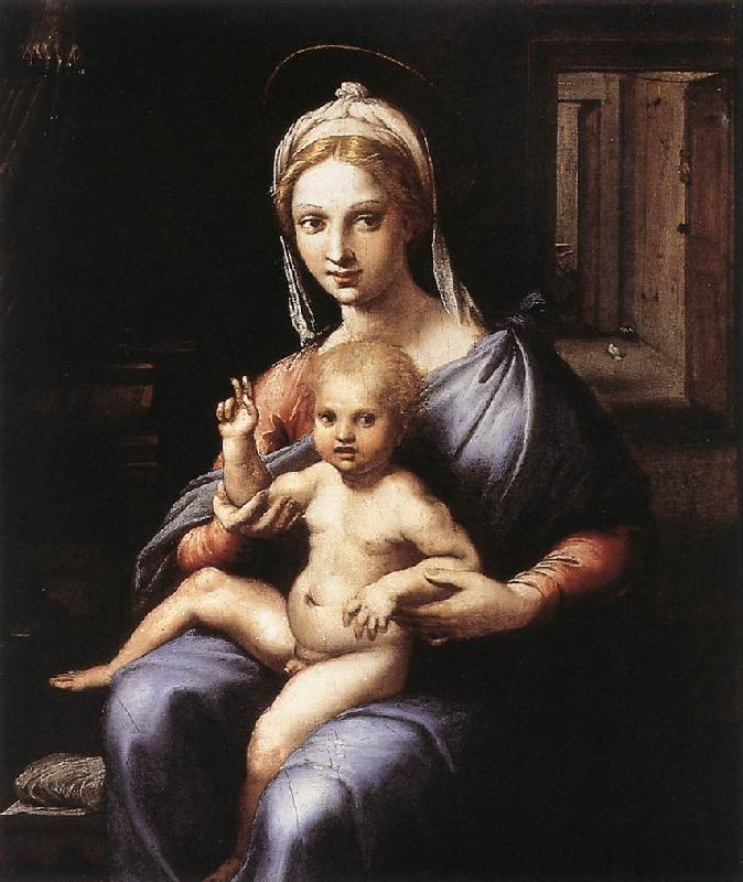 Jakob Alt Madonna and Child sgw oil painting image