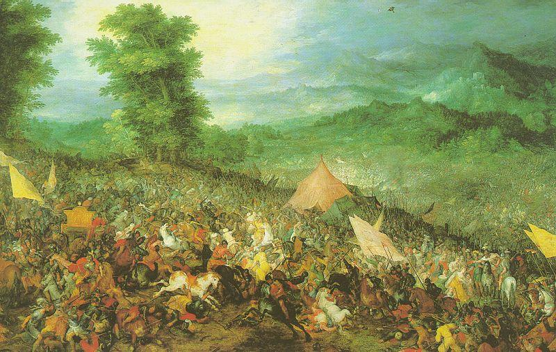 Jan Brueghel The Battle of Issus