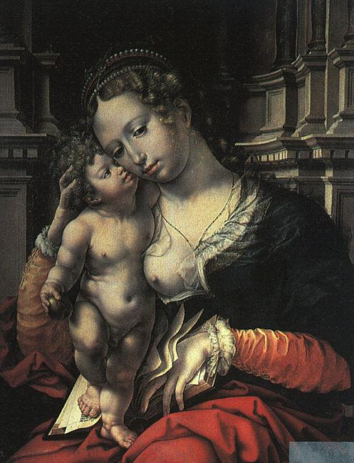 Jan Gossaert Mabuse The Virgin and Child oil painting image