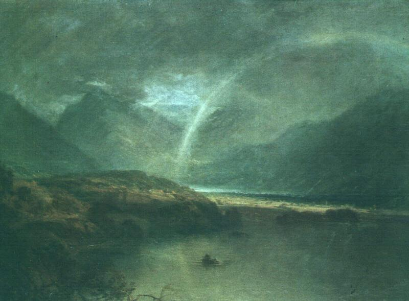 Joseph Mallord William Turner Buttermere Lake : A Shower