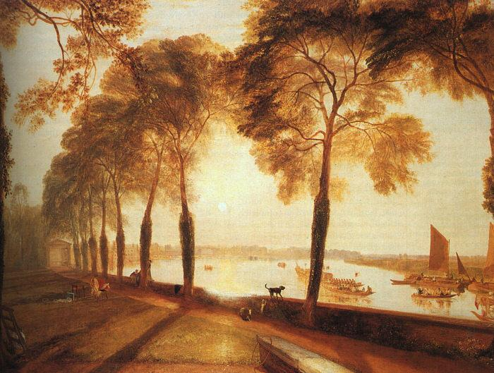 Joseph Mallord William Turner Mortlake Terrace oil painting image