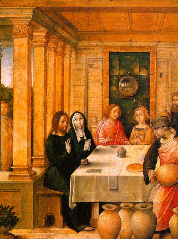 Juan de Flandes The Marriage Feast at Cana 2