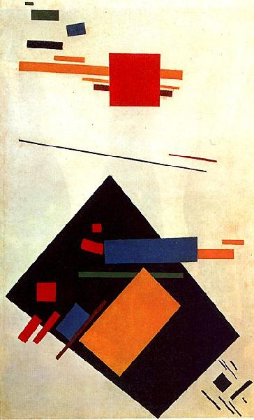 Kasimir Malevich Suprematism oil painting image