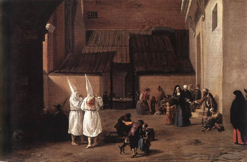 LAER, Pieter van The Flagellants sg oil painting image