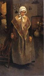 Leon Frederic Old Servant Woman oil painting image