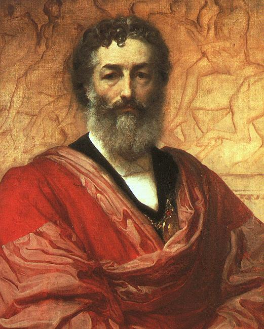 Lord Frederic Leighton Self Portrait  1111
