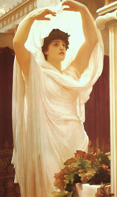 Lord Frederic Leighton Invocation