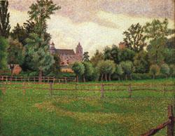 Lucien Pissarro The Church at Gisors oil painting image