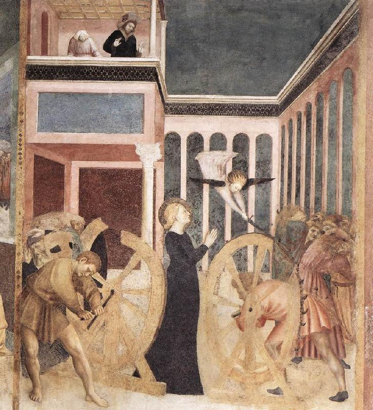 MASOLINO da Panicale The Martyrdom of St Catherine sg oil painting image