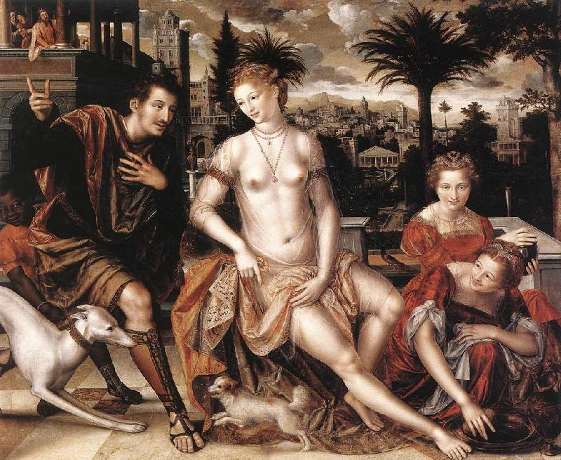 MASSYS, Jan David and Bathsheba sg oil painting image