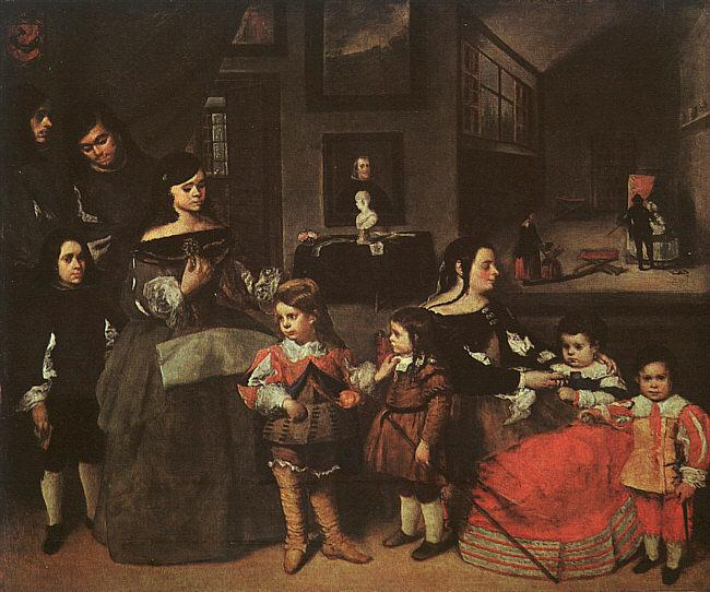 MAZO, Juan Bautista Martinez del The Artist's Family yu oil painting image