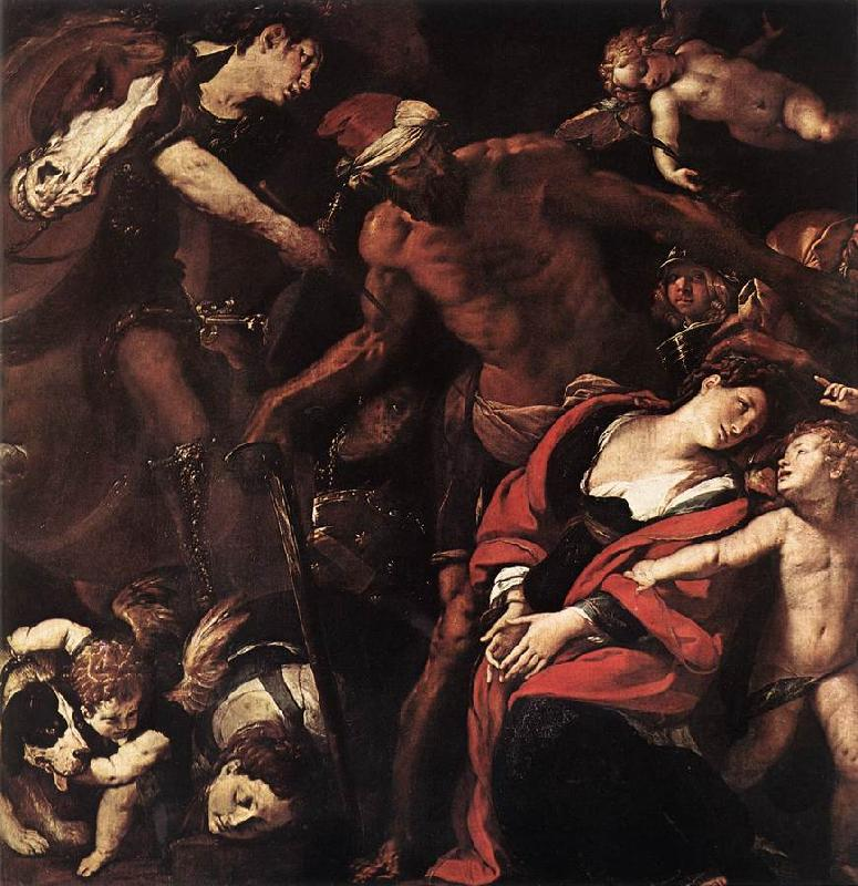 MORAZZONE Martyrdom of Sts Seconda and Rufina dsh