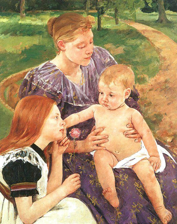 Mary Cassatt The Family