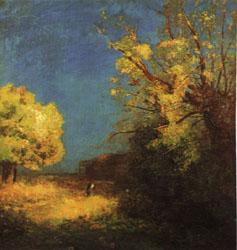 Odilon Redon The Road to Peyrelebade oil painting image
