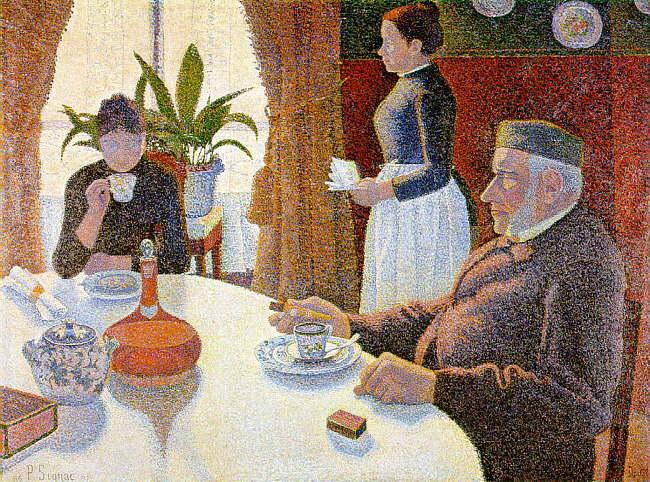Paul Signac The Dining Room