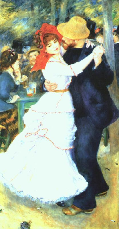 Pierre Renoir Dancing at La Bougival oil painting image